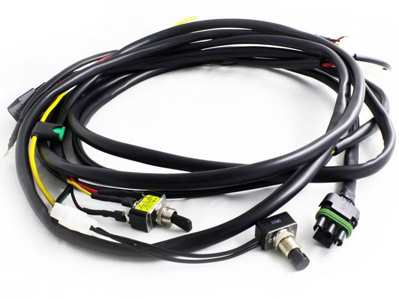 Baja XL & OnX6 Hi-Power Wiring Harness | RealTruck Baja Trailer Wiring Harness on trailer fuses, trailer brakes, trailer generator, trailer hitch harness, trailer plugs, trailer mounting brackets,