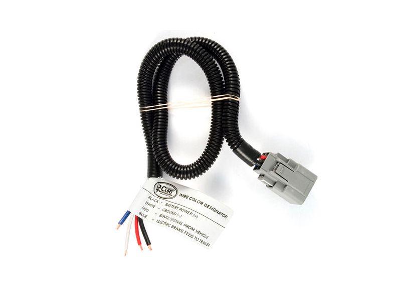 Brake Controller Wiring >> Curt Brake Controller Wiring Harness Realtruck