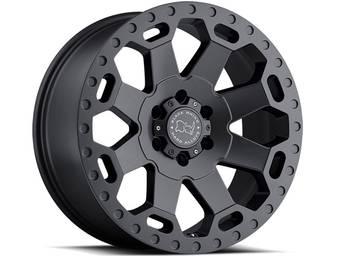 Black Rhino Grey Warlord Wheels