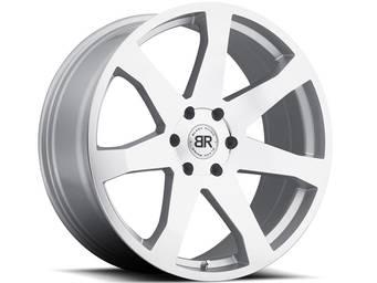 Black Rhino Machined Silver Mozambique Wheels