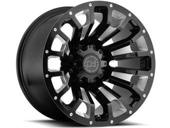 Black Rhino Machined Black Pinatubo Wheels