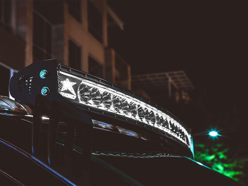 Rigid Light Bar >> Rigid Radiance Plus Curved 54 Led Light Bar