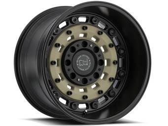 Black Rhino Sand and Black Arsenal Wheels