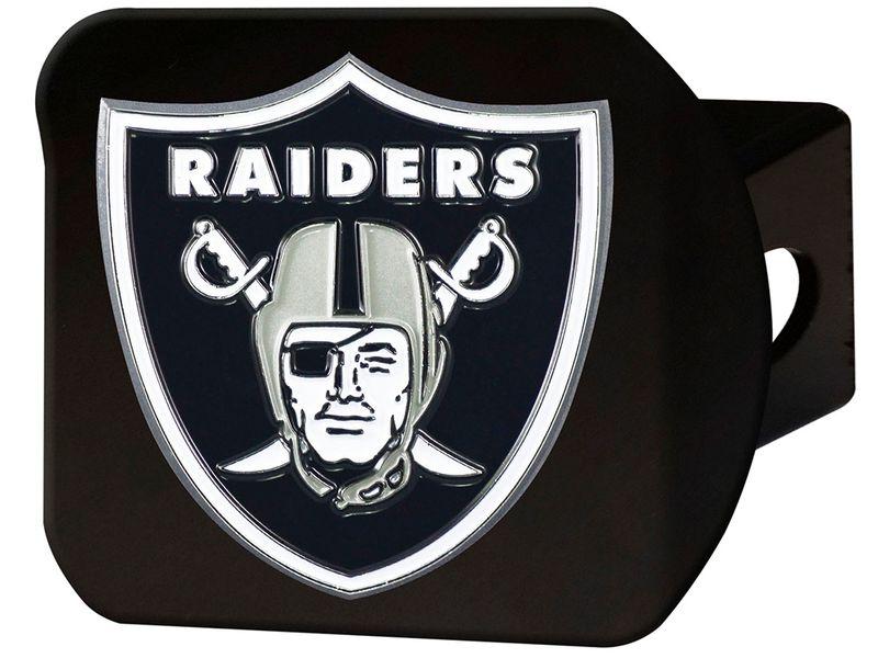 b5411b2b FanMats Oakland Raiders Hitch Cover