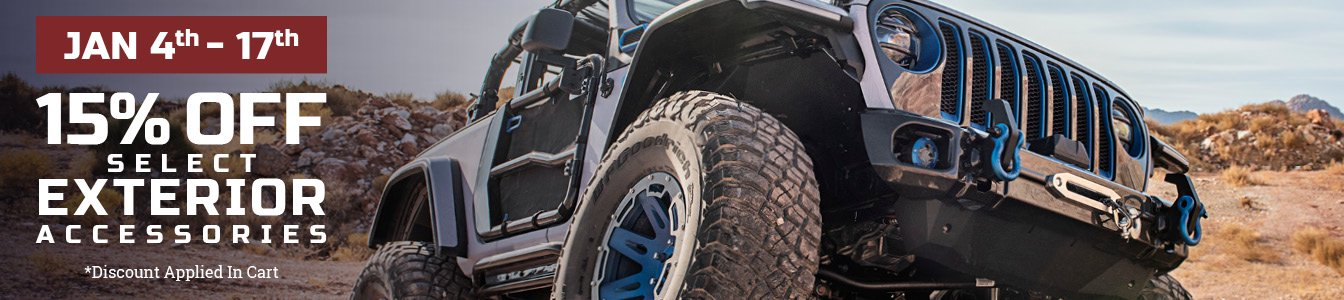 2021 jeep gladiator exterior accessories | rugged ridge