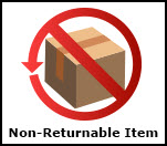 Non-returnable product