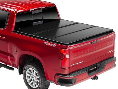 Rugged Premium Hard Fold Tonneau Cover