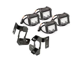 Rugged Ridge A-Pillar LED Cube Light Kit