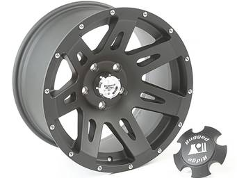 Rugged Ridge Black XHD Wheels