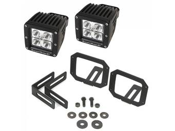 Rugged Ridge Bumper Mount LED Cube Light Kits