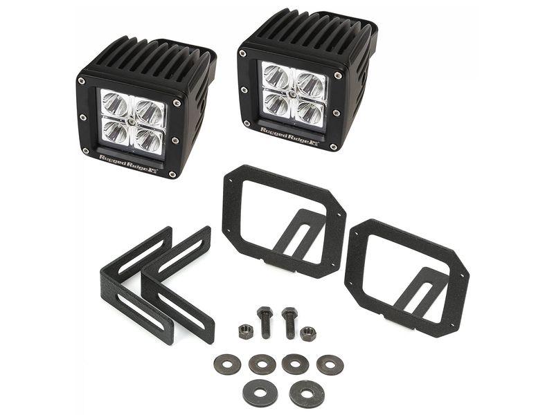 Bumper Mount Led Cube Light Kit