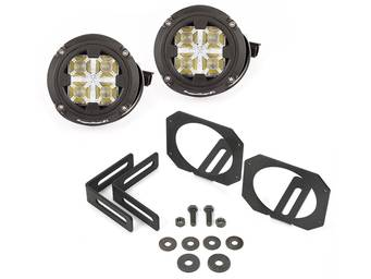 Rugged Ridge Bumper Mount LED Round Light Kits