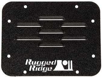 Rugged Ridge Tire Carrier Delete Plate 11586.10 03