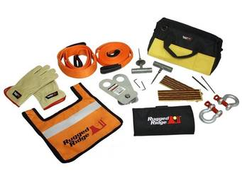 Rugged Ridge UTV/ATV Recovery Gear Kit