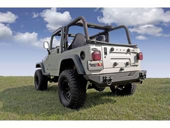 Rugged Ridge XHD Rear Bumper 11546.10 01