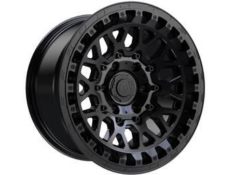TIS Matte Black 555 Wheels
