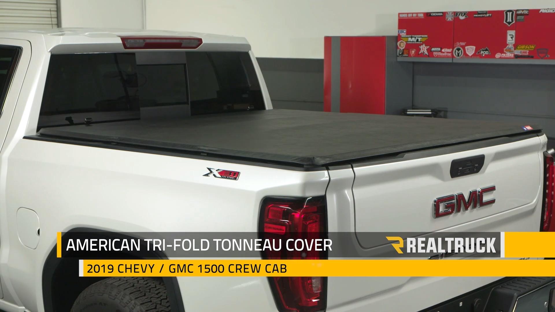 American Tri Fold Tonneau Cover Realtruck